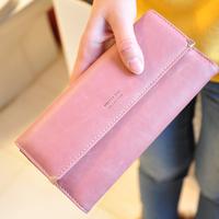 2013 wallet nubuck leather gold love rivet  medium-long wallet Women wallet  wallet women fashion designer item free shipping
