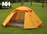 Naturehike cove double layer outdoor aluminum tent ultra-light 1.9 Free Shipping
