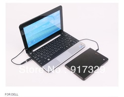 16000mAh/59.2Wh portable li-polymer mobile power battery bank station for PC,iPhone,PSP+DC/Dual USB output interface(China (Mainland))
