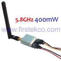 5.8Ghz Transmitter FPV Video A/V TX 400mW 4.0Km For RC Plane