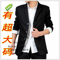 2012 fat autumn fashion male plus size plus size blazer casual ultralarge suit