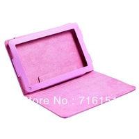 "PU Leather Protective Cover Skin Flip Case Stand for 7"" Amazon kindle fire , Free Shipping wholesale"