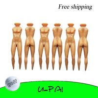 Free Shipping! 10PCS+Golf Joke Tees Funny Nuddie Nude Lady Novelty Golf Ball Tee
