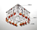 Hot selling walkway crystal chandelier lighting free shipping