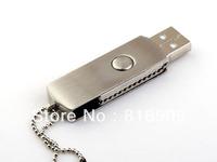 Free Shipping Custom Logo Swivel Metal USB Memory Stick Discount Price