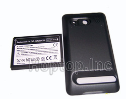 Extended Battery 3500mAh + Back Cover For HTC Droid Incredible(China (Mainland))