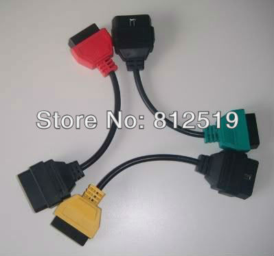 ALFA FIAT DIAGNOSTIC LEAD CABLE ADAPTOR ENGINE AIRBAG ABS CAN ECU FiatECUScan tool(China (Mainland))