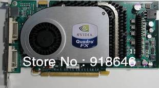 Really Original Nvidia Graphics card Quadro FX3400 workstation professitional Graphics card Free Shipping(China (Mainland))