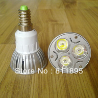 Light bulb led lamps bulb   led lighting spotlight spot light   3W 220V table lamp  source  E27 E14