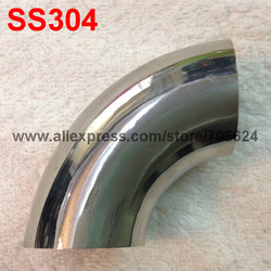 "2.0"" SS304 Pipe Bend, Weld connection, 90 degree C elbow, butt-welded bend(China (Mainland))"