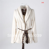 2013 hot sale  high quality low price Women's super soft coral fleece short design bathrobe robe  free shipping