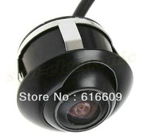 Free shipping 360 degrees rear side or front view car camera angle adjustable car camera for side view and rear view