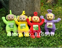 Free shipping  hot sale Teletubbies Plush toys educational toys for kids toys for children 4 set/lot