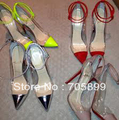 2013 Brand Red Bottom Student Shoes Nude Patent Of Un Bout 12cm Heels wedding shoes PVC Pigalle Pumps