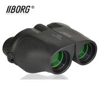HOT SALE BORG B1225 TOP-Quality 12 X 25  Mini HD Waterproof  Pocket-size Binocular Telescope,  night vision,free shipping