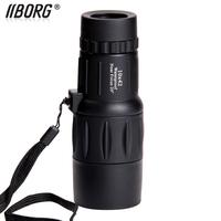 Borg B1042 TOP-Quality 10x 42 HD waterproof  Pocket-size Monocular Telescope ,bird mirror , night vision ,free shipping