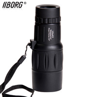 Borg B1042 TOP-Quality 10x 42 HD waterproof  Pocket-size Monocular Telescope ,bird mirror , night vision ,free shipping