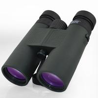 Borg large eyepiece Waterproof Folding Wide-Angle  Not infrared  10*42 Binoculars night vision telescope