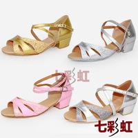 Small child Latin female child Latin practice shoes