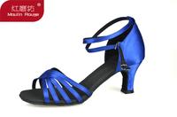 Adult female Latin ballroom female Latin shoes satin Latin