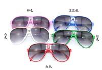 10pcs/lot free shipping Child sunglasses stripe child glasses  fashion sunglasses anti-uv uv400