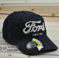 Free Shipping Summer FORD baseball cap automobile race cap belt bottle opener female male hat casual cap sun hat summer hat
