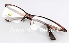 Free shipping 2013 Newl brand designer frames for glasses AV9880T titanium semi rimless glass frames men Optical eyeglasses(China (Mainland))