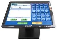 screem monitor POS 15 touch screen display ktv desktop touch song sets pos touch display