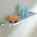 Free shipping solid aluminum kitchen bathroom wall shelf shower caddy  wall mounted single layer bathroom accessories