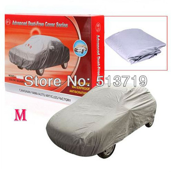 Size M 4.5M UNIVERSAL ANTI UV RAIN SNOW cover DUST WATERPROOF OUTDOOR FULL CAR AUTO COVER
