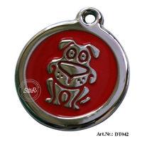 100% Brand Metal Dog Tag/Pet pendant,Free Shipping!