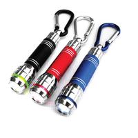 Donkey led hanging buckle small flashlight mini flashlight pocket-size variofocus flashlight chromophous