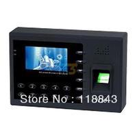 H10 TFT 3.0 Screen inch Fingerprint Time Attendance USB fingerprint=500 SD CARD