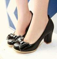 Free shipping news high heel shoes heels women dress footwear fashion sexy pumps P2791 hot sale size 34-43