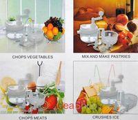 1 Set Hot Sale Swift Fruit Vegetable Food Chopper Shredder Blender Masher Nicer Dicer 80009 Free Shipping