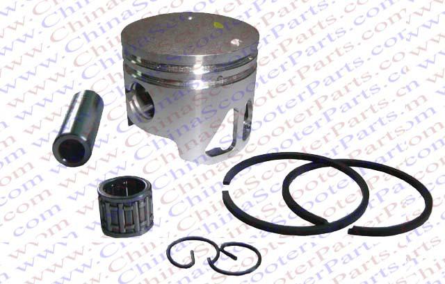 Performance 44MM 10MM two Extra Window Piston Ring Kit 49CC Mini Moto ATV Quad Dirt Pit Bike Parts(China (Mainland))