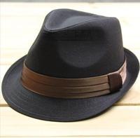 Coffee black fedoras jazz hat shaping cap performance cap female male fashion