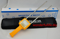 professional Corn,wheat,rice,bean,wheat flour tester 4 Digital LCD Grain moisture meter   range:5-35% hygrometer