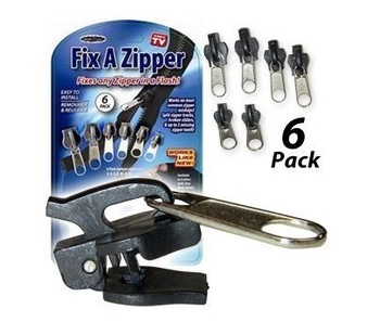 Free shipping,Good zipper instead,as seen on tv,fix a zipper,6pcs in one pack ,wholesale and retail,dropship