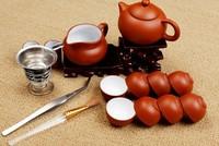 16Pcs/Set yixing purple clay tea kung fu tea set suit ,chinese porcelain tea set,  clay Purple sand teapot set,Free shipping