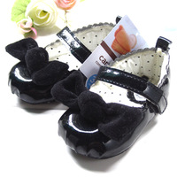 Black senior pearl princess shoes girls shoes baby shoes toddler shoes q153