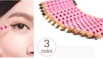 Cheap Cosmetics  3color Waterproof liquid eyeliner 3D Color  Eye pencil