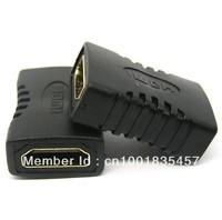 HDMI Female To HDMI Female Adapter Plug HDMI Extension cord Adapter HDMI Plug ,Free shipping dropshipping