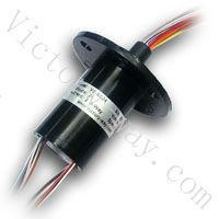 OD22mm,Length 42mm,24 ways 2A current,240V AC/DC, Micro Capsule Slip ring VSR-SC24