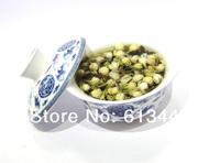 buy 5 ship 6,Organic Jasmine Flower Tea, jasmine Green Tea 80g +Secret Gift+Free shipping