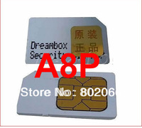 2013 free shipping!!! Original A8P sim card for 800se Security A8P Sim support Original Software for 800SE