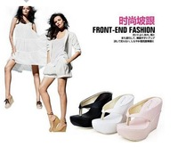 open toe time-limited sandalias women shoes free shipping 2014 ne the summer, wedges, clip, feet, sandals, slippers woman34---43