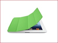 Freeshipping 5 PC/lot Magnetic PU Leather Smart Cover Stand Case Skin Shell for iPad 2 3 Many Colors Instock
