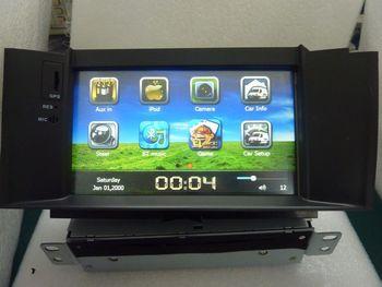 "HD 7"" in dash 1 din car cd dvd head unit gps navigation nav navi for Citroen C4L steering wheel canbus"