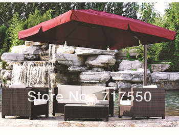 metal frame ,PE rattan furniture ,PE rattan sofa ,outdoor furniture ,RS102